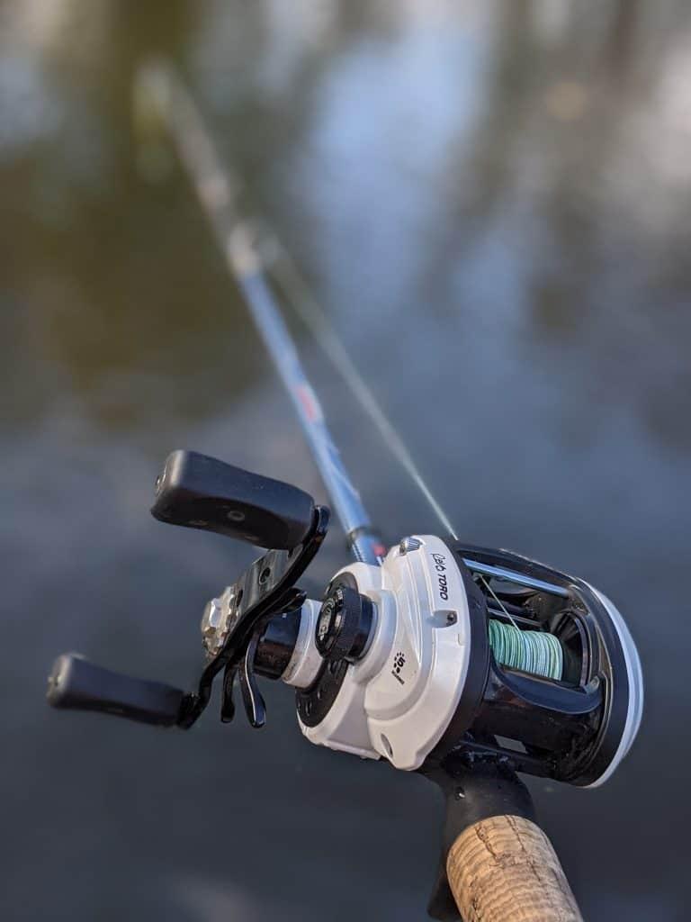 baitcaster fishing reel