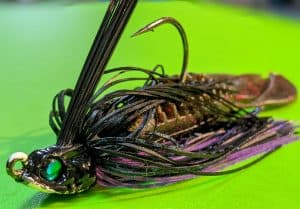 what is the best lure for bass, Bass Jig with trailer