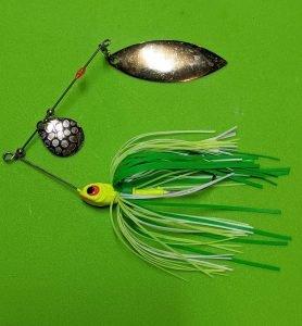 spinner bait for bass fishing