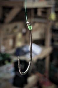 Snell Knot on a baitholder hook