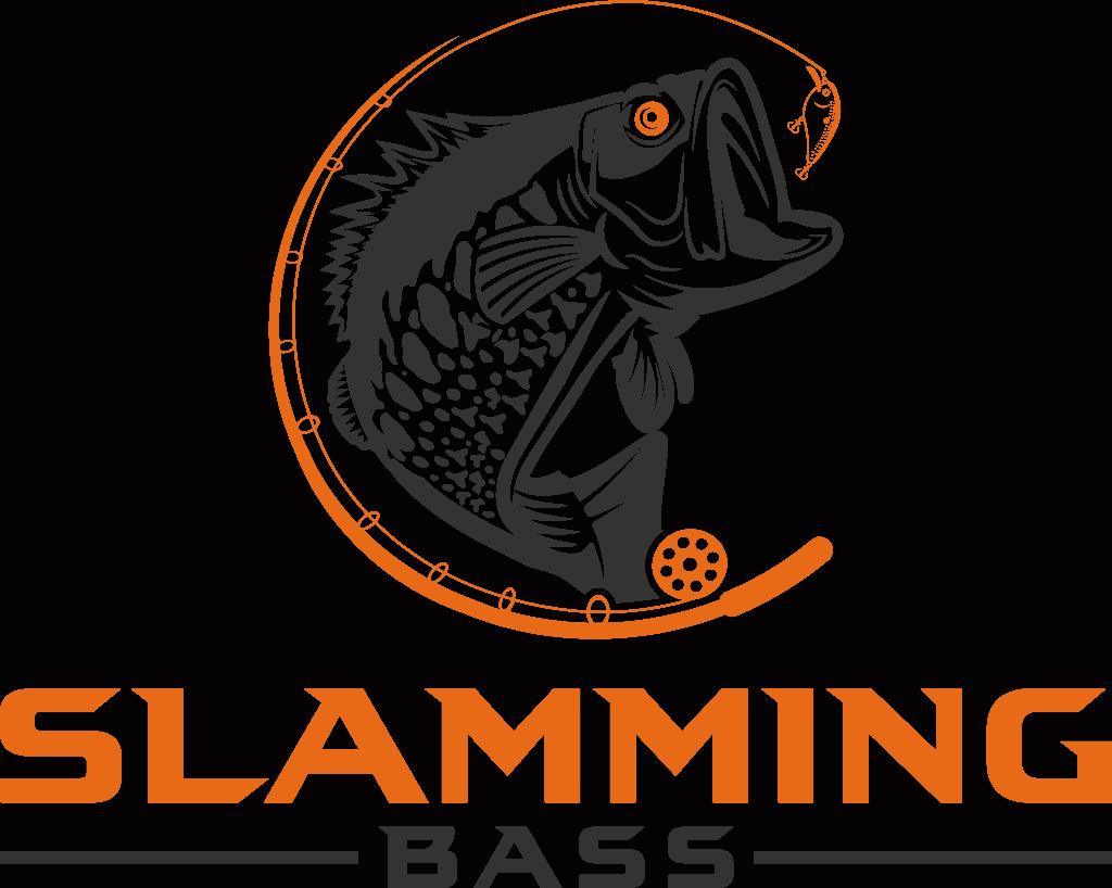 slamming bass fishing tips logo