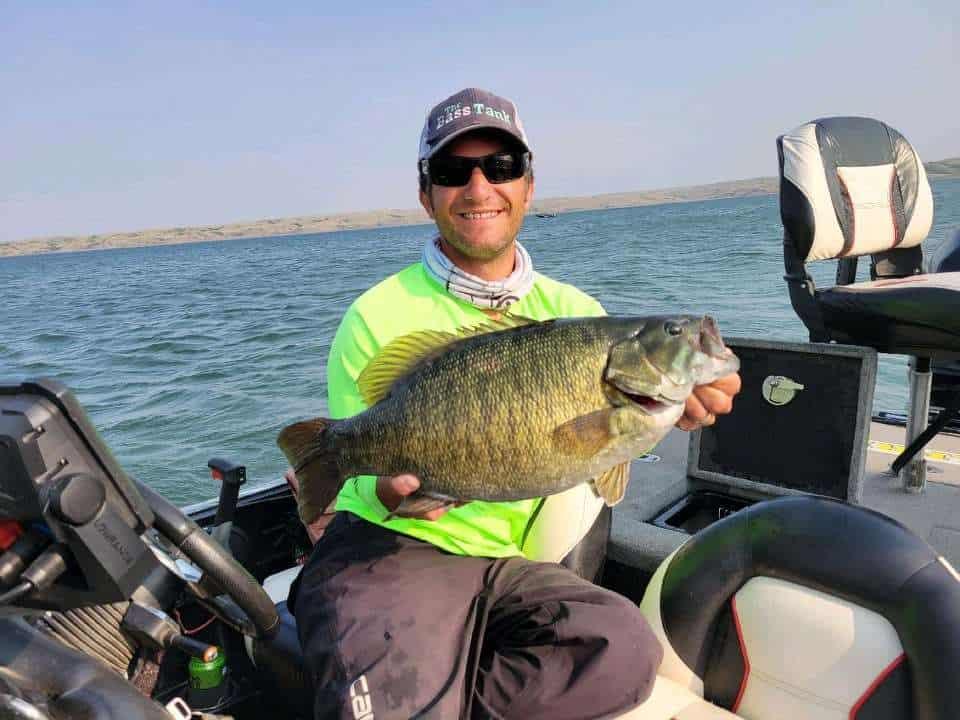 new record smallmouth bass in South Dakota